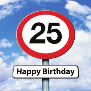 Spreuken 25 Jaar Verjaardag