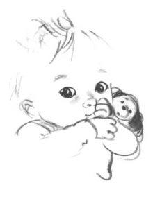 Tekst kaartje overlijden baby