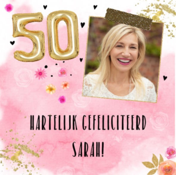 50 jaar Sarah